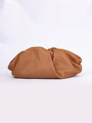 Сумка-клатч коричневая | 5704494