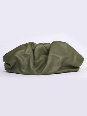 Сумка-клатч оливкового цвета | 5704497