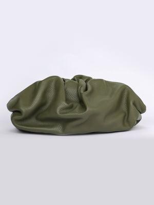 Сумка-клатч оливкового цвета | 5704502