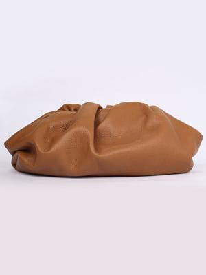 Сумка-клатч коричневая | 5704499