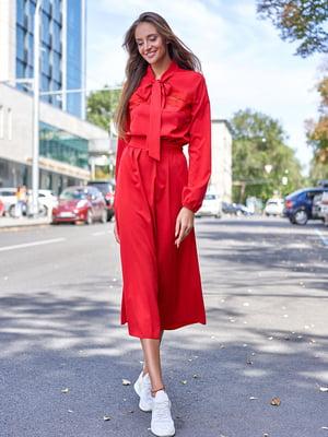 Платье красное | 5711649
