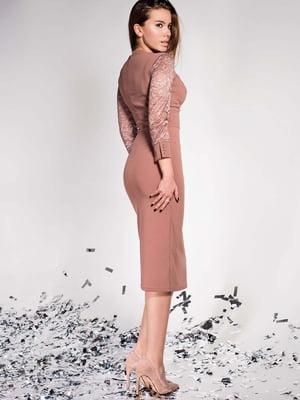 Платье бежевое | 5711680