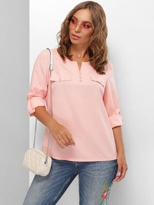 Блуза персикового цвета | 5711731