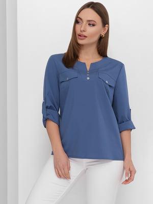Блуза синяя | 5711735