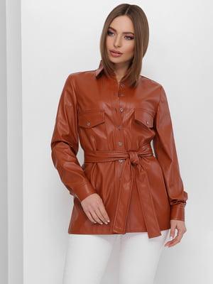 Сорочка коричнева | 5711741