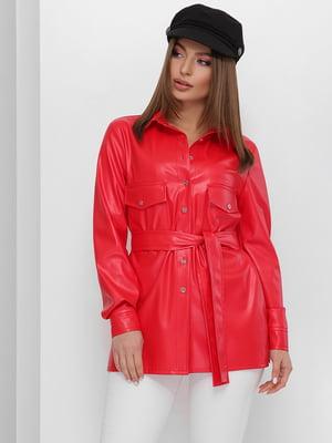 Рубашка красного цвета | 5711743