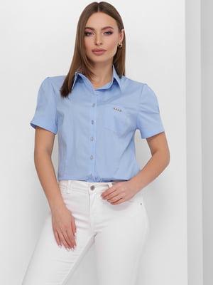 Рубашка голубого цвета | 5711750