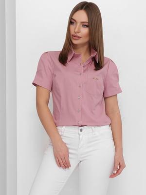 Рубашка пудрового цвета | 5711758