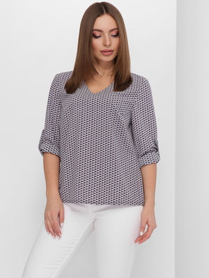 Блуза в принт | 5711759