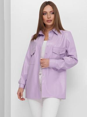 Рубашка фиалкового цвета | 5711768