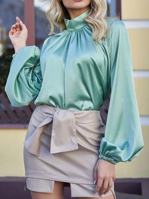 Блуза зеленая | 5711787