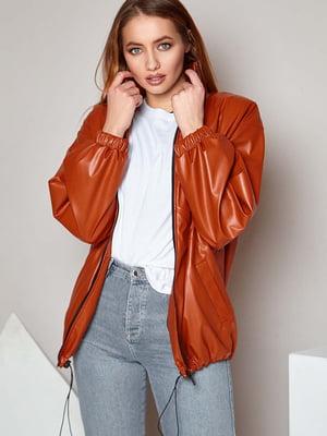 Куртка цегляного кольору | 5711807