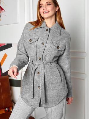 Пальто серое | 5711900