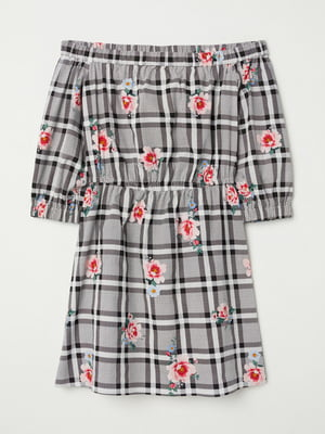 Платье комбинированной расцветки | 5712033