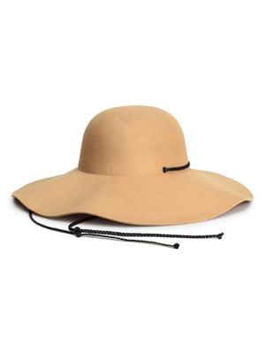 Шляпа бежевая | 5712401