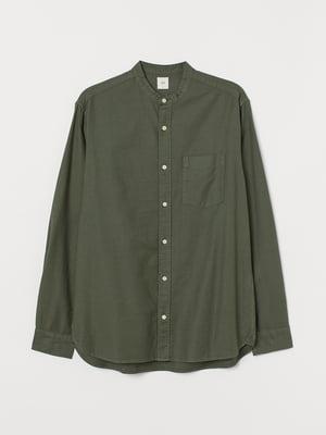 Рубашка цвета хаки | 5712635