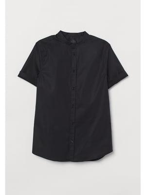 Рубашка черная | 5712640