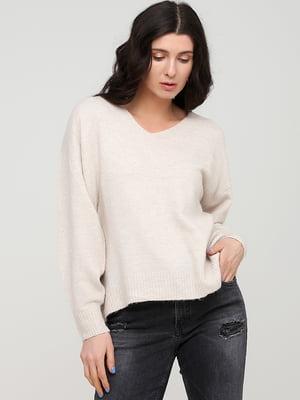 Пуловер бежевый | 5712909
