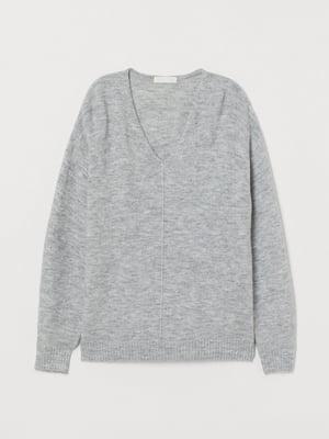 Пуловер серый | 5712916
