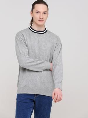 Джемпер серый   5712943
