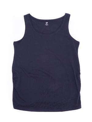 Майка для беременных темно-синяя   5712961