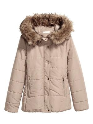 Куртка бежевая | 5713046