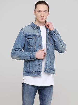 Куртка синяя джинсовая   5713099