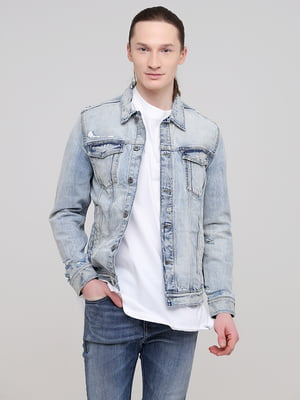 Куртка светло-синяя джинсовая | 5713100