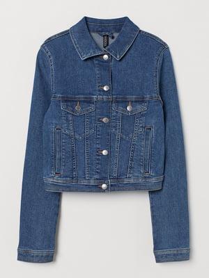 Куртка синяя джинсовая | 5713101