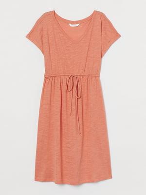 Платье для беременных оранжевое | 5713108