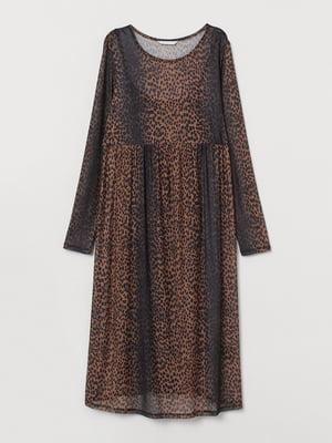 Платье для беременных анималистической расцветки | 5713109