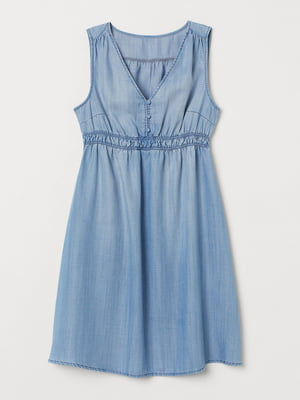 Платье для беременных светло-синее | 5713110