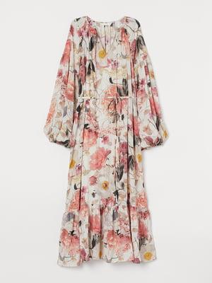 Платье для беременных с цветочный принт   5713111