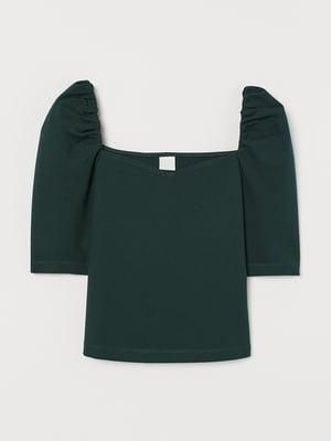 Топ-блузка темно-зеленый | 5713143