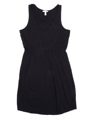 Платье для кормящих мам черное | 5713147