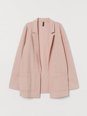 Жакет рожевого кольору | 5713163