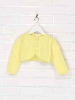 Болеро лимонного цвета | 5713433