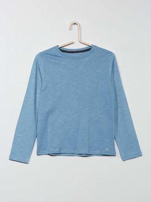 Лонгслив голубого цвета | 5713366