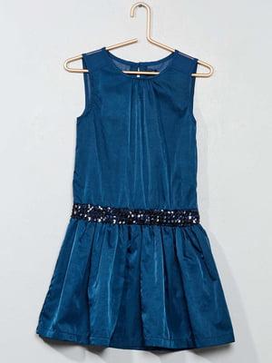 Платье бирюзового цвета | 5713356