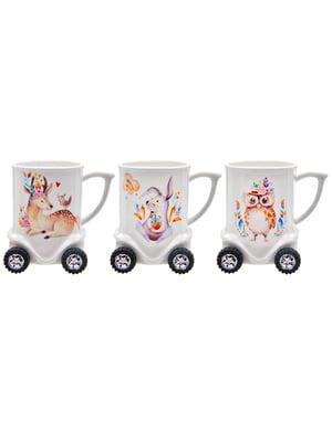 Чашка на колесиках «Животные» (320 мл) | 5425092