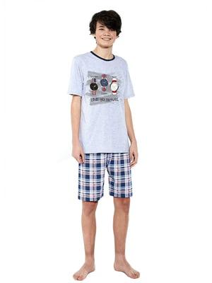 Піжама: футболка і шорти | 5713467