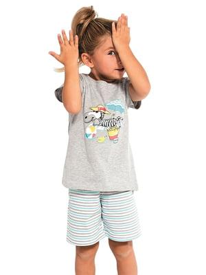 Піжама: футболка і шорти | 5713468