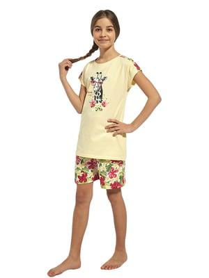 Піжама: футболка і шорти | 5713470
