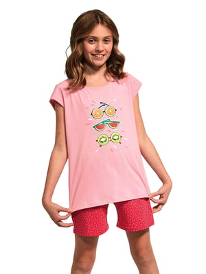Пижама: футболка и шорты | 5713473