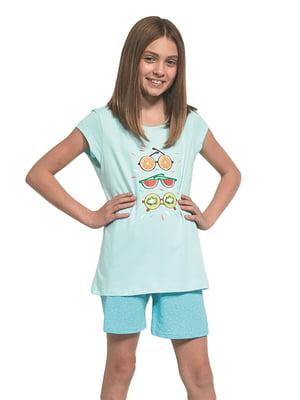 Піжама: футболка і шорти | 5713474