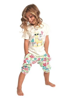 Піжама: футболка і шорти | 5713475