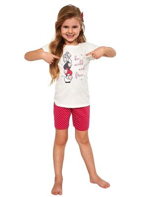 Піжама: футболка і шорти | 5713479