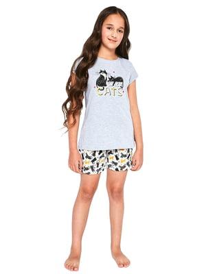 Піжама: футболка і шорти | 5713480