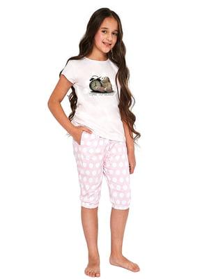 Пижама: футболка и шорты | 5713481