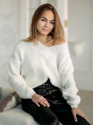 Пуловер білий   5713526